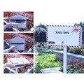Конверт Дизайн безопасности стенд почтовый ящик металлический открытый почтовый ящик сад парк безопасный почтовый ящик письмо коробка 122 с...