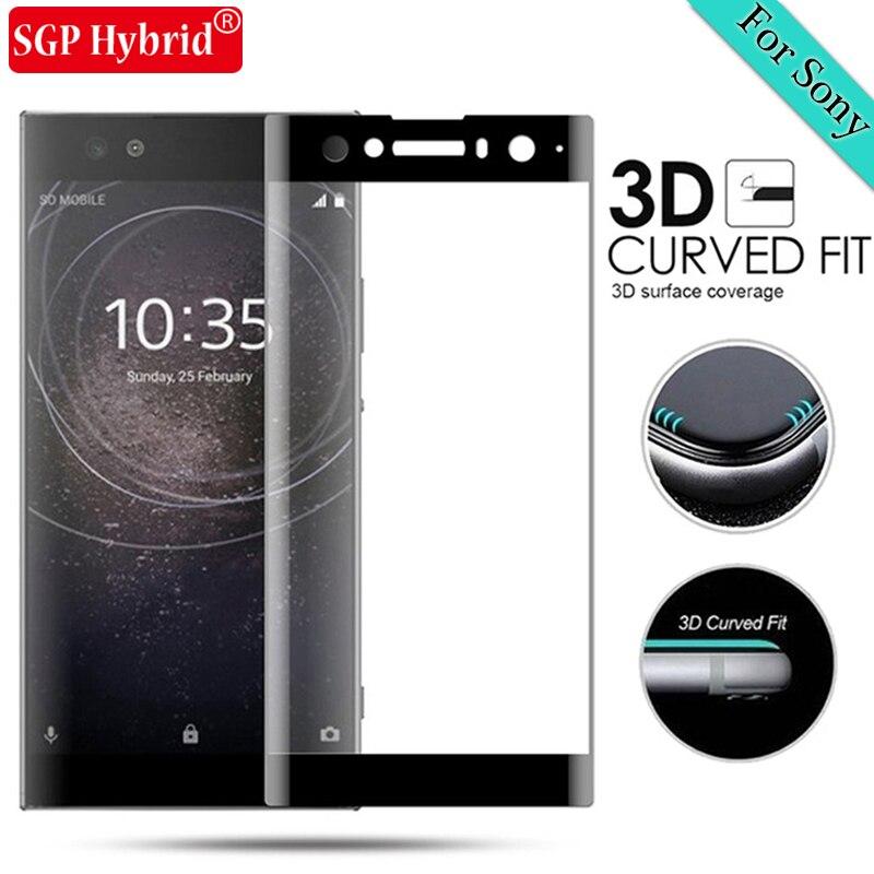 3D Tempered Glass For Sony Xperia XA2 Ultra Full Cover Screen Protector For Sony Xperia X XA XA1 Ultra Plus Protective Film Case