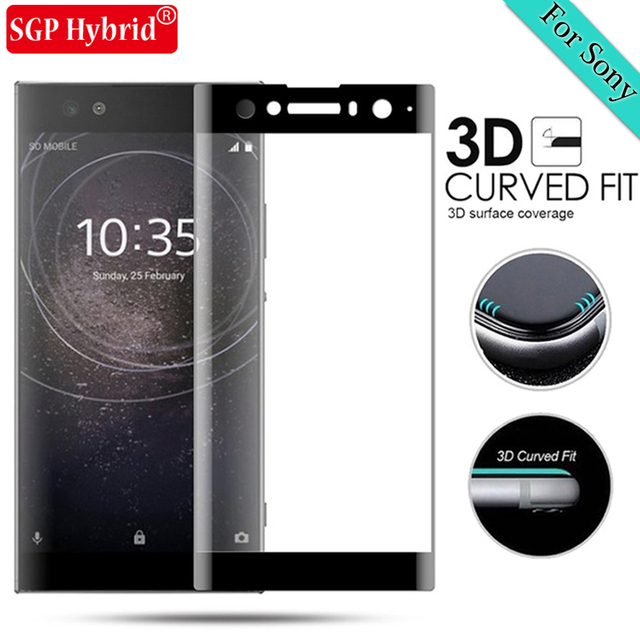 US $2 4 25% OFF|3D Tempered Glass For Sony Xperia XA2 Ultra Full Cover  Screen Protector For Sony Xperia X XA XA1 Ultra Plus Protective Film  Case-in