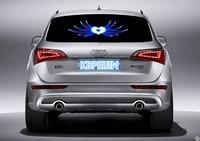 car styling neon light car LED music Rhythm sticker for saab 9 3 9 5 93 95 900 9000 accessories 90*25cm