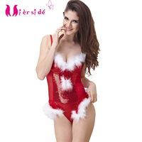 Mierside Christmas Bra Set Women New Year Sexy Lingerie Red Set Underwear 34/36/38 B/C