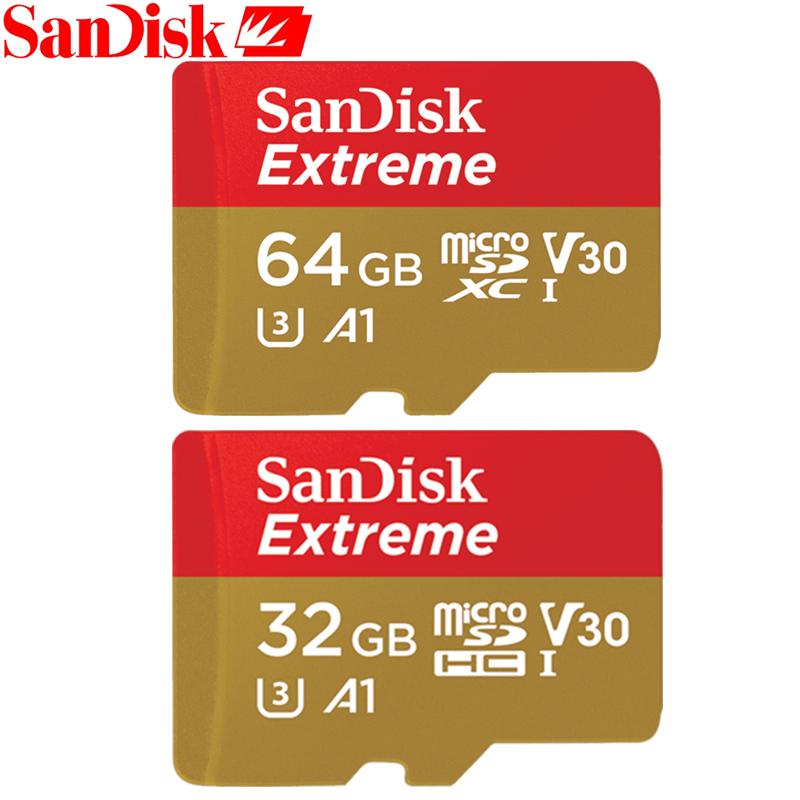 SanDisk 100% original Sandisk Micro SD card 90Mb/s16gb 32gb 64gb Original Class10 32gb memory card for Smartphone/Tablet