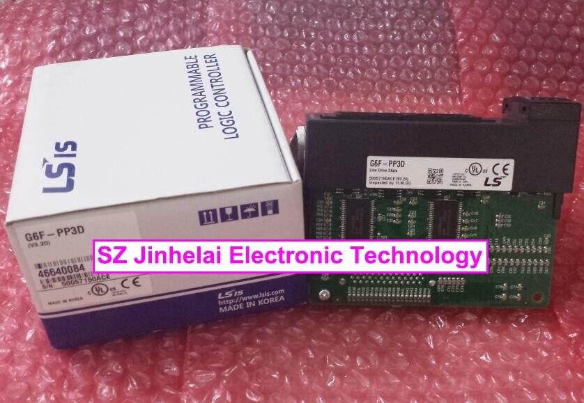G6F-PP3D Authentic original LS(LG) PLC CONTROLLER 100% new and original g6f tc2a ls lg plc controller thermocouple input module