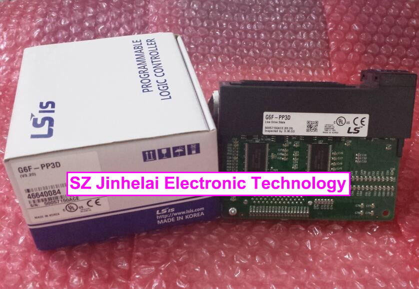 G6F-PP3D New and original LS(LG) PLC CONTROLLER 100% new and original g6i d22a ls lg plc input module