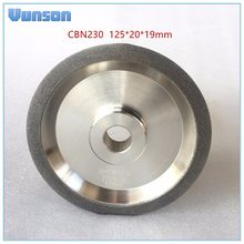 Cubic Boron Nitride Grinder Wheel Diameter 125mm Special for grinding/Sharpening HSS Material Drill Bits 125*20*19mm(China)