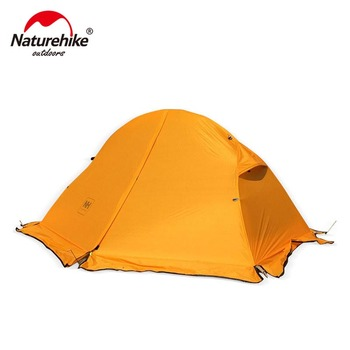 Naturehike Cycling Backpack Tent Ultralight 20D/210T For 1 Person Camping Tent  NH18A095-D naturehike 1 2 man camping tent outdoor 1 2 person ultralight hiking camp tents 1 25kg pu 4000mm