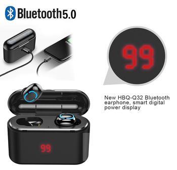 Rock It Hifi Wireless Bluetooth 5.0 Earphone with Portable 1500mAh Charging Case 1