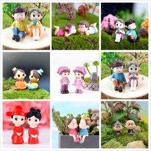 1 комплект мини-табурет пары куклы Сказочный Сад миниатюры Декор кукольный домик/Террариум фигурки Фигурка DIY микро пейзаж