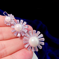 Fashion Pearl Zircon Hair Clip Simple Bridal Hair Accessories, Hair Accessories, Fashion Hair Pins