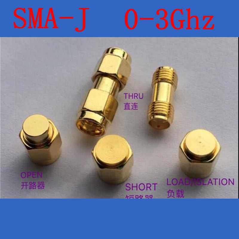 SMA Calibration ,High quality RF Coax dedicated test SMA type,include short type,load type,open type,thru,DC-3Ghz,50 ohm [lan] gore okr01r71024 0 sma sma rf test line revolution angle 18ghz 60cm