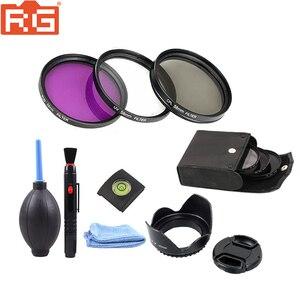 Image 1 - 49mm 52mm 55mm 58mm 62mm 67mm 72 mm 77mm Filter kit set 49 72mm UV FLD CPL Circular+Filter bag for Canon nikon sony camera