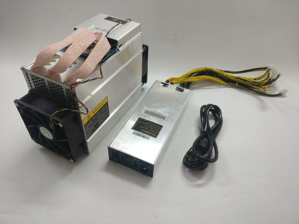 Envío Gratis se AntMiner T9 + 10,5 T Bitcoin minero con PSU Asic minero más 16nm BCC BCH minero Bitcoin máquina de minería - 4