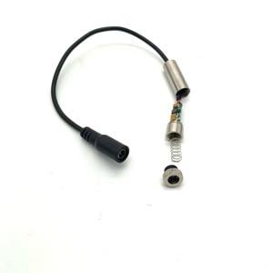 Image 3 - Módulo laser roxo da linha de energia real, 100mw/250mw 405nm foco ajustável 5v grau industrial módulo a laser diy,