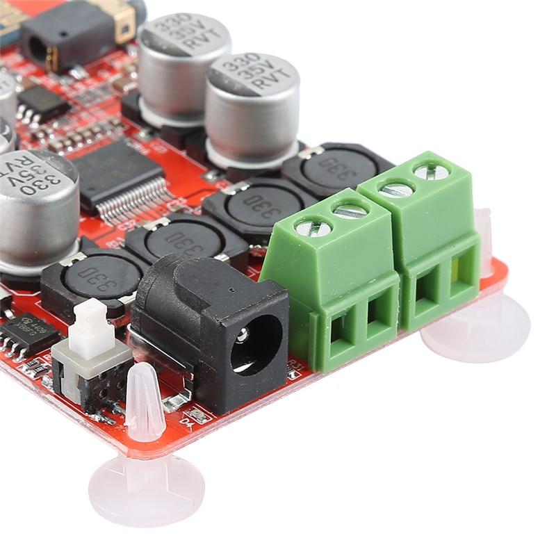 Digital Audio Amplifier Board TDA7492P Bluetooth Subwoofer Speaker Amplifiers Board Durable Professional Amplificador