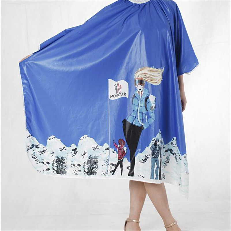 Salon Barber Gown Cape 1PCS Adult Hairdressing Hairdresser Hair Cutting Aprons Cloth Hair Accessories Tools 8