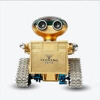 HowPlay гусеничный Trailblazer Робот Металл собраны модели мобильного телефона дистанционное управление Умный взрослый игрушка подарок коллекци