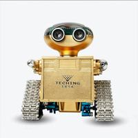 HowPlay Metal Track Robot DIY assembled toys assembly model Intelligent control of APP Educational aids Gift for boys Souptoys