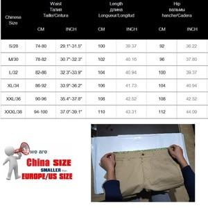 Image 2 - JEANS MÄNNER 2020 Fracht Elastische Taille Jean Hosen Hohe Qualität Clearance Taktische Denim Multi Tasche Männlichen Hosen Cargo Jeans Männer