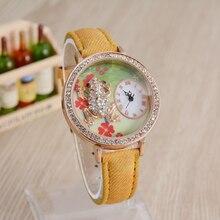 2016 últimas taladro determinado ocio relojes de las mujeres, moda de lujo de relojes, reloj de cuarzo de alta calidad, la belleza de la línea está diseñado