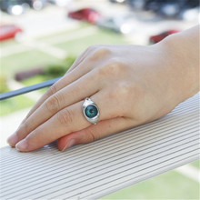 Mood Rings Change Color Emotion feeling Rings Trendy Magic EYE Adjustable Size Ring Temperature Control New Year Hot Gift 2016