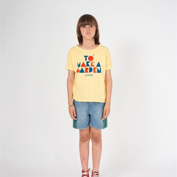 BOBOZONE 2021 NEW BOBO loose t-shirt for kids boys girls summer tee tops 4