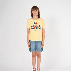 Image 4 - BOBOZONE 2019 yeni BOBO bol tişört çocuklar için erkek kız yaz tee tops