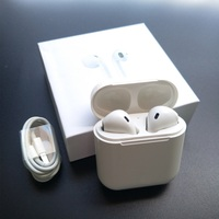 Mini Bluetooth Earphones Wireless Headset Stereo Headphones Sport Earbud Earphone AirPods With Mic For Phone Xiaomi