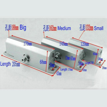 Free Shipping Wholesale 138 Model Small Type 90 Degree Positioning Household Heavy Duty Hydraulic Door Closer Door Shutter heavy duty door closer hydraulic buffer door closer super heavy duty bearing 180kg automatic positioning door closer
