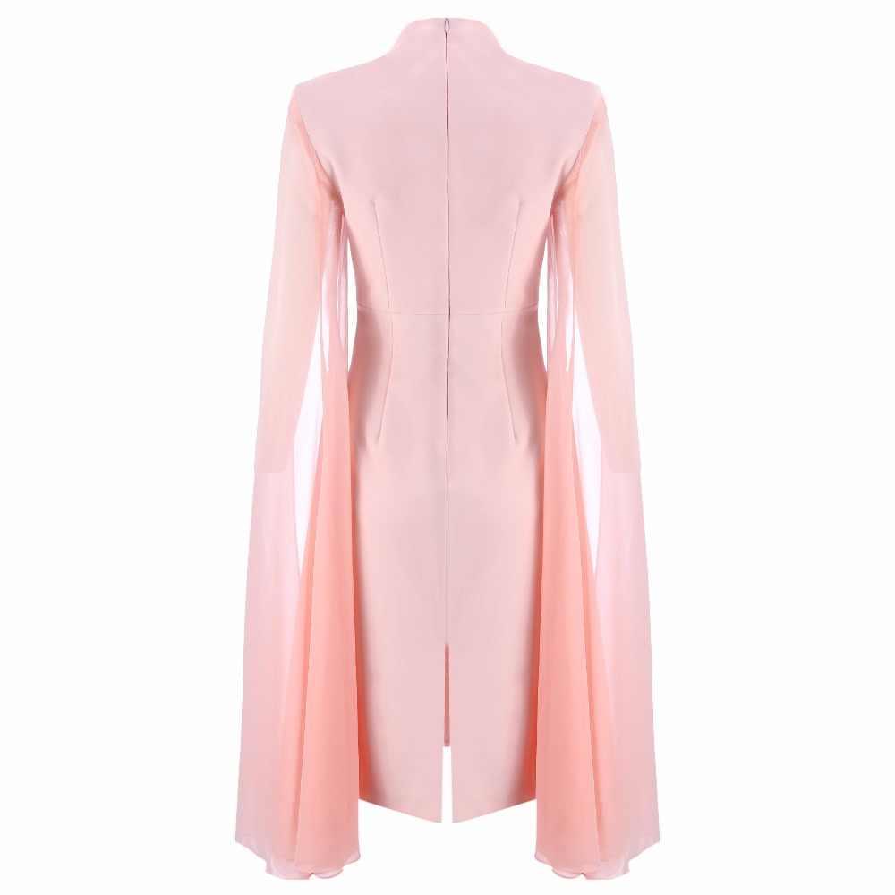 2018 new arrivals verão as mulheres se vestem atacado rosa com franja vestido vestido de festa Vestido + terno