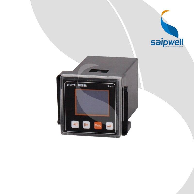 45 Type Three Phase LCD Voltage Meter,LCD Intelligent Voltage Panel Meter 48*48*95mm  (SP-453UY)