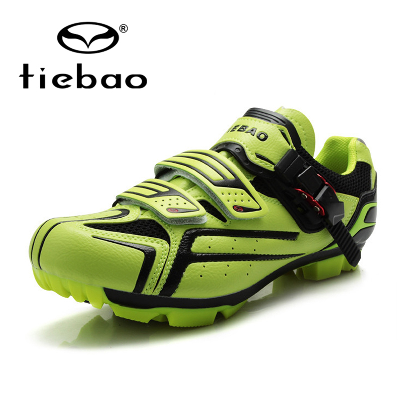 Tiebao Mountain Bike Road Bike Racing Self-Locking Athletic Shoes PVC Soles Breathable Athletic Cycling Shoes Unisex PVC Soles tiebao professional road shoes rotating screw steel wire with fast cycling shoes road bike shoes tb16 b1259
