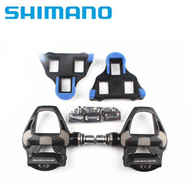 shimano DURA ACE PD-R9100 black carbon fiber bike PEDALS R9100 pedal with SM-SH12 cleats in stock кассета shimano dura ace 11 30 11 ск