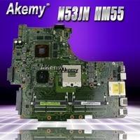 N53JL Motherboard 1GB and 2 RAM Slots for ASUS N53JF N53JL N53JN N53J Loptop Motherboard HM55 N53J N53JL motherboard 100% tested