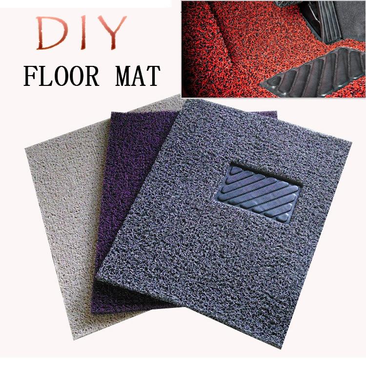 Car Floor mat Carpet Auto Aluminum Pad Plate Pedal Foot Rest Mat for honda civic accord fit crv 2012 2013 2014 2015 2016 2017 genuine honda 83603 sza a00zb floor mat