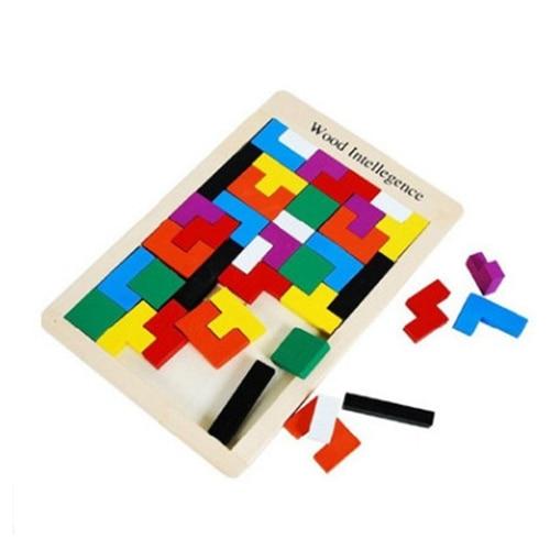 Rompecabezas de madera para niños Toy Tangram Puzzle Rompecabezas - Juegos y rompecabezas - foto 4