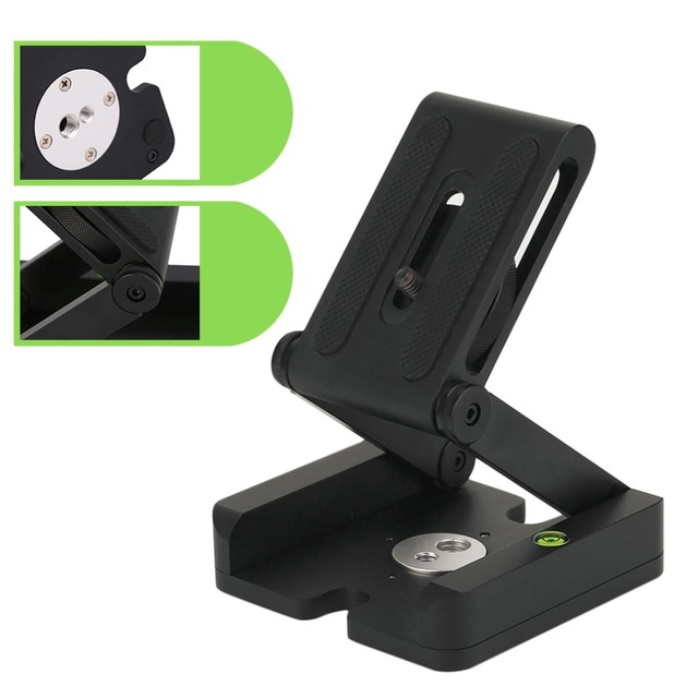 Folding Z Type Stand Holder Professional Tripod Kit Flex Tilt Head Pan Ball Head Folding Desktop Compatible Camera Camcorder