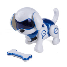 Remote Control Smart Robot Dog Kids Toy Intelligent Dancing Walk Puppy Dog Toy Electronic Pet New Year Xmas Gift Induction Toys rc smart robot english toy r 1 infrared slide walk shoot missile dancing intelligent remote control battle droid toy for kids
