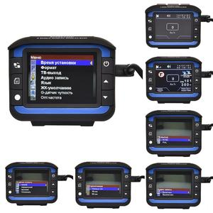 Image 4 - 車 DVR カメラレコーダー 2 1 で駆動レコーダー抗レーザー車のレーダー探知 140 度 HD 720 1080P サポート英語ロシア