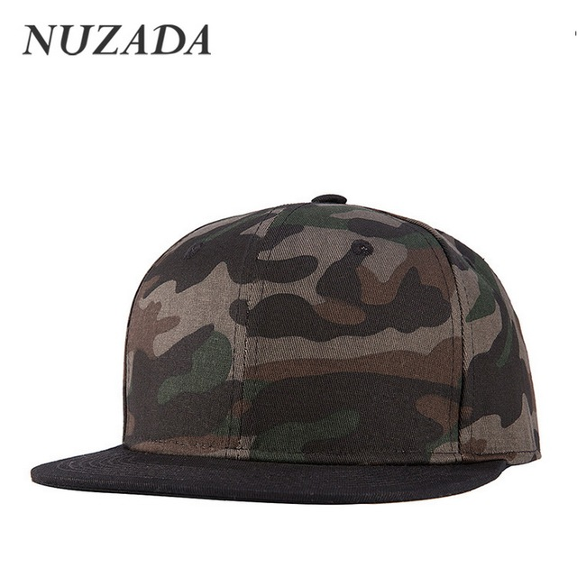Brands NUZADA Classic Camouflage Personality Style Men Women Sports Hat Hats Baseball Cap Hip Hop Snapback Caps jt-093