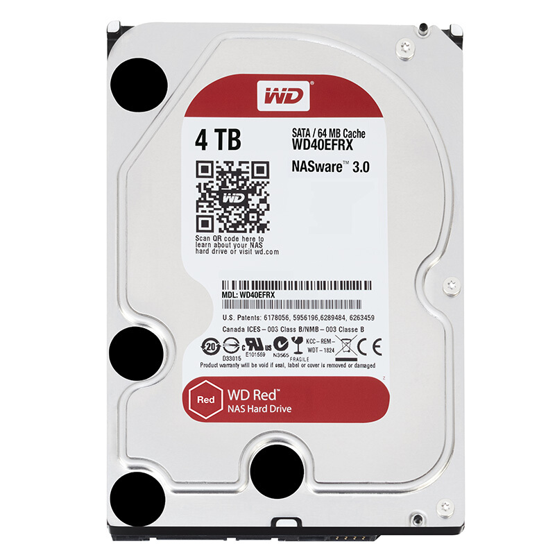 Image 3 - Western Digital WD Red NAS 2TB Hard Disk Drive  2TB 3TB 4TB   5400 RPM Class SATA 6 GB/S 64 MB Cache 3.5 Inch for Decktop Nas-in External Hard Drives from Computer & Office