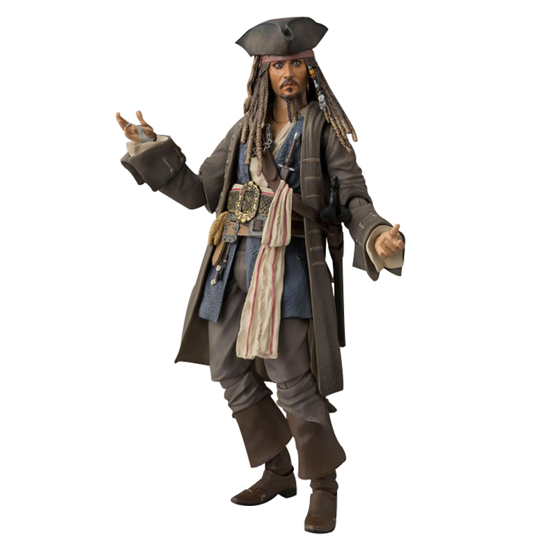 ZXZ 16cm Movable Figurine Pirates of the Caribbean 5 Captain Action Figure PVC Collection Figures Toys Gift Decoration Doll doub k 1 pcs action figure toy pvc sexy figurine female doll 20cm anime kawaii model toys collection car decoration figures