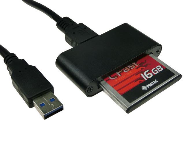 Leitor de cartão CFast 5 Gb/s USB 3.0 para adaptador de slot para cartão CFast qualquer CFast Industrial do II cartão de memória