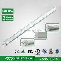 Bán buôn-2G11 LED Ống 9 Wát 2835 SMD 225 mét PL Ống bóng đèn Công Suất cao Huỳnh Quang 60 Watt thay thế 110 V 220 V Miễn Phí Vận Chuyển