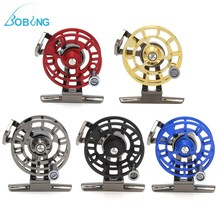 Bobing Ice Fly Fishing Reel Aluminum Alloy ultra-light Drag Adjusting Casting Spool Wheel