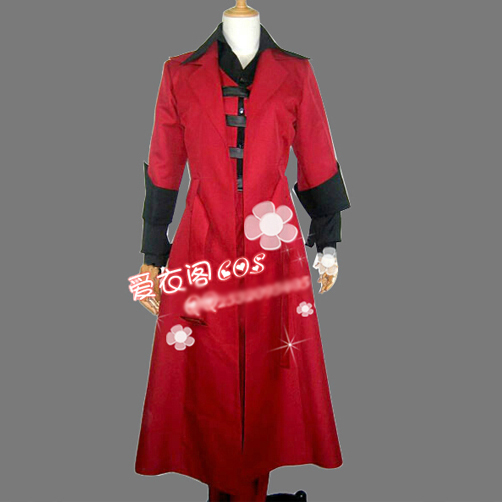Anime Action Games Devil May Cry Dante Cosplay Red Coat Uniform Costume Any Size Free Shipping