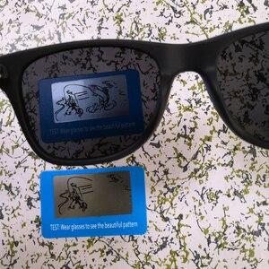 Image 5 - LongKeeper 50 יח\חבילה מותאם אישית לוגו מקוטב משקפי שמש נשים גברים עץ במבוק אמיתי עץ זרועות שמש משקפיים מראה Gafas
