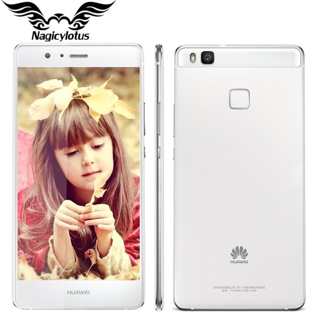 """Оригинал huawei g9 lite 4g lte мобильный телефон msm8952 окта основные 3 ГБ ram 16 ГБ rom android 6.0 5.2 """"FHD 1920X1080 13MP Отпечатков Пальцев"""