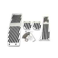 High Quality Aluminium Alloy Foot Rest Gas Pedal Brake Pedal For BMW X1 M3 E39 E46