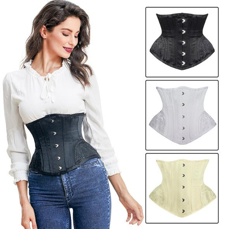 Women Body   Bustiers     Corsets   latex Rubber   corset   waist Trainer super corselet Top Slimming Shapewear black white warehouse