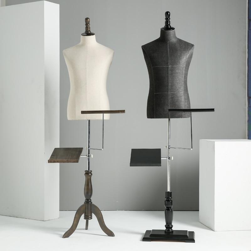 Requisiten halben Körper männliche Schaufensterpuppe Kleiderbügel - Kunst, Handwerk und Nähen - Foto 3